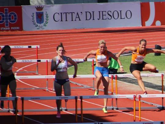 Wendy Visser wint brons op EK atletiek voor Masters in Venetie, 2019