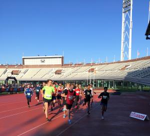 Phanos Olympisch Stadionloop 2020 - start Olympisch Stadion 10K